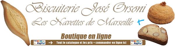 Biscuiterie José Orsoni,les navettes de Marseille
