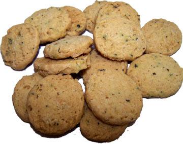 Biscuits salés au romarin pour l'apéritif